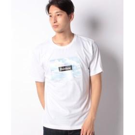 (WEGO/ウィゴー)WEGO/カラフルフォトボックスTシャツ/メンズ ホワイト