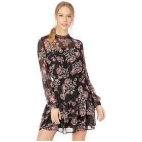 ビービーダコタ レディース ワンピース トップス Whiskey Tango Printed Dress Black