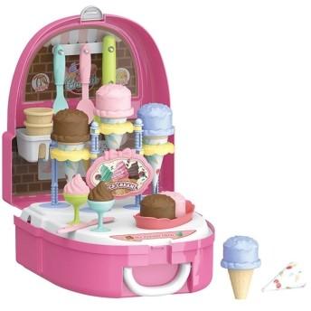 リュックでおままごと! アイスクリームショップ