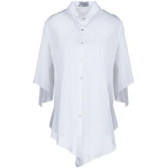 《セール開催中》BALOSSA レディース シャツ ホワイト 42 コットン 100%
