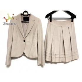 アンタイトル UNTITLED スカートスーツ サイズ1 S レディース ベージュ   スペシャル特価 20190912