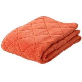 アウトレット 20%OFF 送料無料 あったか 敷きパッド キングサイズ オレンジ ベッドパッド パッド 敷き布団 エムールヒート 吸湿発熱 ヒートウォーム マイクロファイバー 敷パッド パッドシ