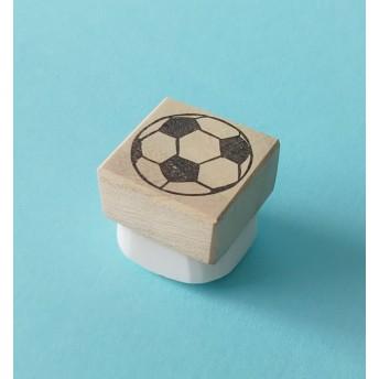 サッカーボール*消しゴムはんこ*
