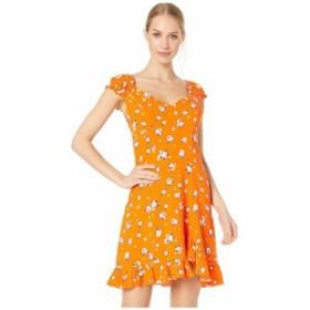 フリーピープル レディース ワンピース トップス Like a Lady Printed Mini Orange