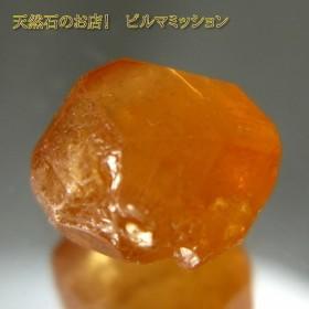 ★2,6カラット◆マダガスカル産◆スペサルティン(スペサルタイト)ガーネットの結晶原石◆ジェムクラス、1