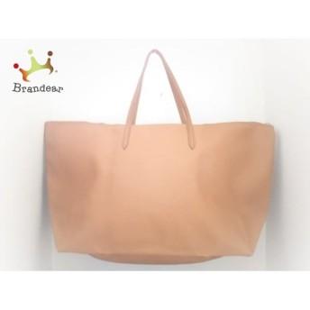 ラコステ Lacoste ショルダーバッグ 美品 ブラウン ラージサイズ PVC(塩化ビニール) スペシャル特価 20190830