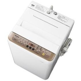 PANASONIC NA-F60PB11 ブラウン [全自動洗濯機 (洗濯6.0kg)]【あす着】