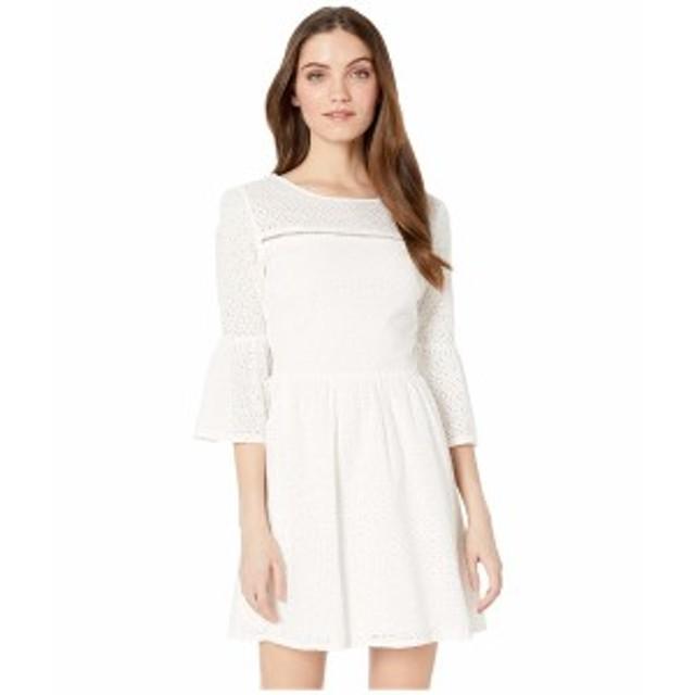 ジャック バイ ビービーダコタ レディース ワンピース トップス Eyelet On The Prize Dress Bright White