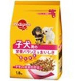 【ペディグリー 子犬用 チキン&緑黄色野菜入り 1.8kg】[代引選択不可][1週間-10日で発送予定]