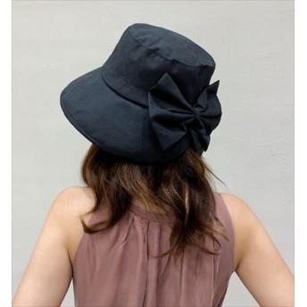 UV カット ハット レディース リボン 夏 韓国 ファッション 夏 シンプル つば チューリップ 紫外線 アウトドア 水着 帽子 大人 シンプル キャンプ