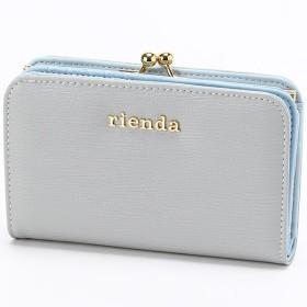 [マルイ] *カード10枚以上収納*BASIC SLG MINI ROUND WALLET/リエンダ(バッグ&ウォレット)(rienda)
