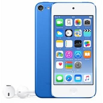 【新品即納】送料無料 アップル Apple 第6世代 iPod touch MKHE2J/A ブルー/64GB Bluetooth対応