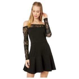 ビービーダコタ レディース ワンピース トップス Lacey Days Off the Shoulder Dress Black
