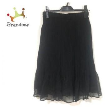 スペッチオ SPECCHIO スカート サイズ40 M レディース 美品 黒 スペシャル特価 20190907