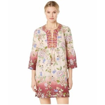 ジョニーワズ レディース ワンピース トップス Flare Sleeve Tunic Dress Multi