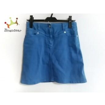 シーバイクロエ SEE BY CHLOE ミニスカート サイズ2 M レディース 美品 ブルー 値下げ 20190909