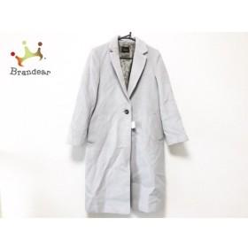 ビームス BEAMS コート サイズ40 M レディース 美品 ライトグレー 冬物/Demi-Luxe 新着 20190607
