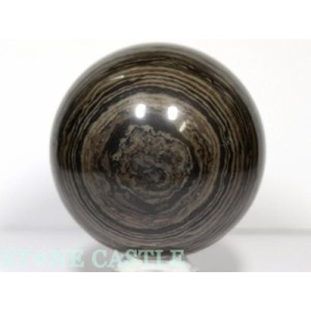☆置石一点物☆【天然石 置き石】丸玉 天眼石 約98mm No.53