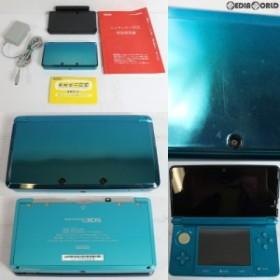【中古即納】[訳あり][本体][3DS]ニンテンドー3DS アクアブルー(CTR-S-BAAA)(20110226)