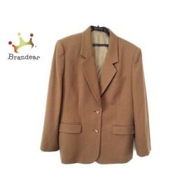 ダックス DAKS ジャケット サイズ11AR M レディース 美品 ブラウン 肩パッド   スペシャル特価 20190907