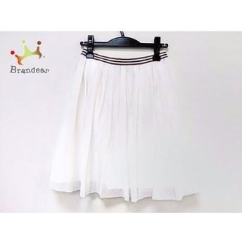 ロベルトコリーナ ROBERTO COLLINA スカート サイズS レディース 美品 白×レッド×ネイビー スペシャル特価 20190913