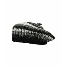 サンディエゴハット レディース 帽子 アクセサリー KNH3594 Marled Knit Beret Black