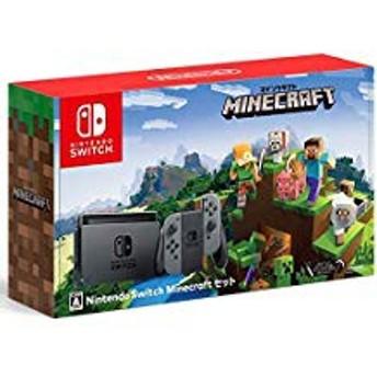 【欠品あり】【送料無料】【中古】Nintendo Switch Minecraft (マインクラフト) セット(箱説付き)