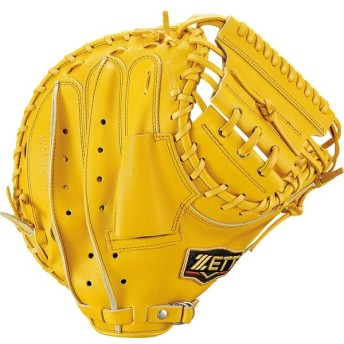 ZETT(ゼット) 一般軟式野球用キャッチャーミット プロステイタス BRCB30922 トゥルーイエロー