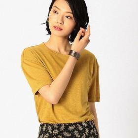 【SALE(伊勢丹)】<COMME CA ISM (レディース)> フレンチリネン Tシャツ(1260TL29) 32 【三越・伊勢丹/公式】