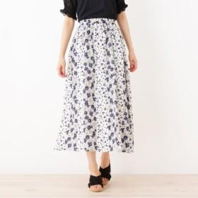 [マルイ]【セール】フラワーギャザースカート/シューラルー(レディス)(SHOOLARUE Ladies)