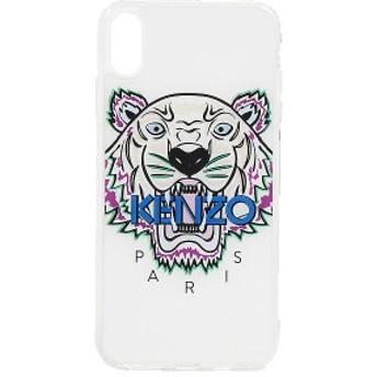 ケンゾー iPhoneケース コクー タイガー ヘッド アイフォン XS MAX ケース KENZO Coque Tiger Head iPhone XS Max Case White