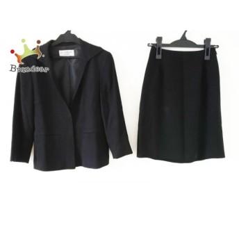 ヴァンドゥ オクトーブル 22OCTOBRE スカートスーツ サイズ34 S レディース 黒 スペシャル特価 20190905