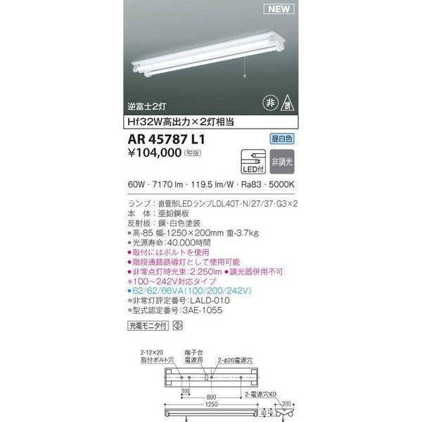 コイズミ照明LEDアウトドア間接照明AU49039L