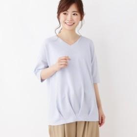 [マルイ]【セール】裾タックストライプソフトプルオーバー/サンカンシオン(レディス)(3can4on Ladies)