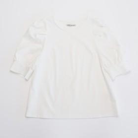 ボリュームスリーブプルオーバーシャツ(オフ)