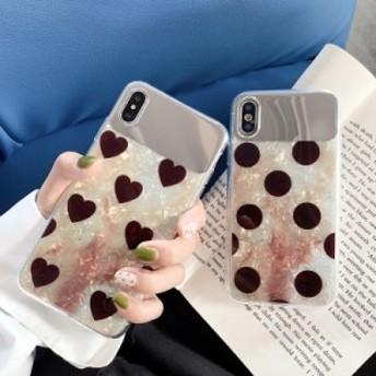 2019新登場iPhone XR/iPhone X/XS/XS Max用鏡面加工カバー/ミラーケース/鏡付きアイフォンケース/おしゃれスマホケース保護カバー/おしゃ