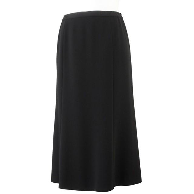 [マルイ] [大きいサイズ/LL-4L]ブラックフォーマル6枚ハギスカート/フィットミーモア(Fitme Moi)