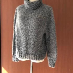 アルパカ*オフタートルsweater【冬ニット受注作成】