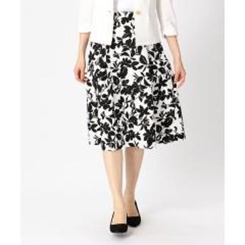 花柄 プリントスカート