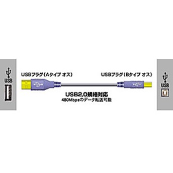 USBケーブル(2.0対応)1m [VX-U110]