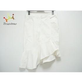 パオラ フラーニ PAOLA FRANI ロングスカート サイズ40(I) M レディース 白   スペシャル特価 20190911