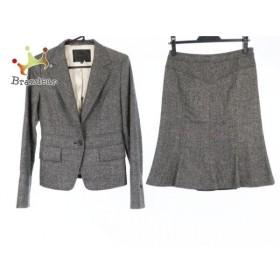 アンタイトル UNTITLED スカートスーツ サイズ1 S レディース 美品 グレー   スペシャル特価 20190823