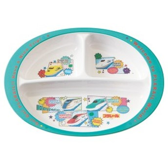 ランチプレート 26cm メラミン製 食器 プラレール19 キャラクター ( 食洗機対応 お皿 ランチ皿 トミカ プラレール 子供 用 子ども 子供