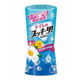 トイレのスッキーリ! Sukki-ri! フローラルソープの香り 400mL 消臭剤