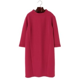 【PLARAPA】リップルストレッチボトルネックワンピ/チェリーピンク レディースウェア ワンピース - 選択してください - チェリーピンク M au WALLET Market