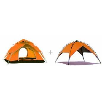 自動テント屋外肥厚キャンプキャンプテント