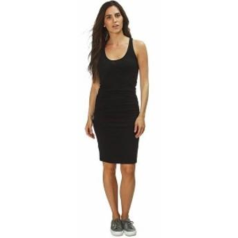 モンロー レディース ワンピース トップス Tank Shirred Dress - Women's Black