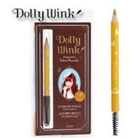 Dolly Wink ドーリーウインク アイブロウペンシルII No.1 ハニーベージュ