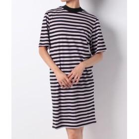 (CHEAP MONDAY/チープマンデー)Smash dress Narrow stripe/レディース PURPLE