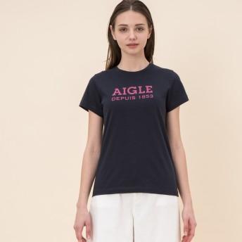 AIGLE レディース DARK NAVY (075) Tシャツ